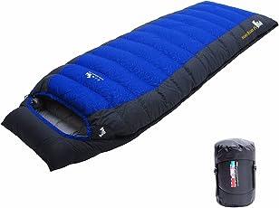 LMR Outdoor Daunenschlafsäcke Ultralight Deckenschlafsäcke für camping mit Kompression Sack Sleeping bag
