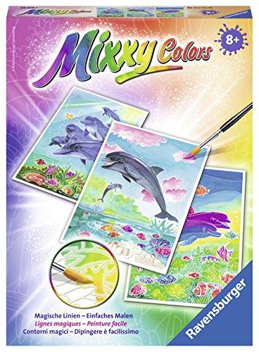 Ravensburger Mixxy Colors 29339 - Delfine, Malsets