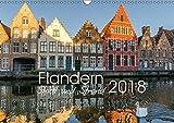 Flandern - Stadt und Strand (Wandkalender 2018 DIN A3 quer): Bilder aus Belgiens Küstenregion (Monatskalender, 14 Seiten ) (CALVENDO Orte) [Kalender] [Jul 10, 2017] Herm, Olaf