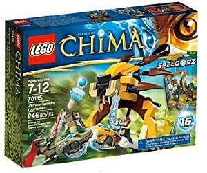 LEGO Legends Of Chima - Speedorz - 70115 - Jeu de Construction - L'ultime Tournoi Speedor