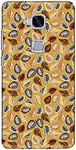 The Racoon Ornate Lea Grip printed designer hard back cover for Huawei Honor 5C