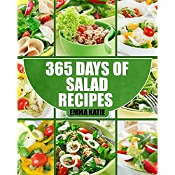 Salads: 365 Days of Salad Recipes