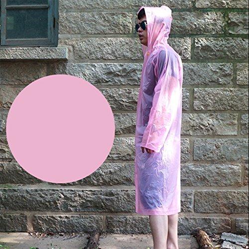 Outdoor escalade marche portable créatif couleur des bonbons coupe-vent couple imperméable poncho ( Couleur : S ) A
