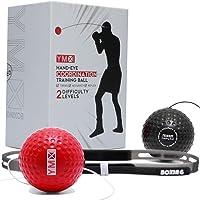 YMX BOXING Reflex Ball - Accessoire de Sport d'entrainement de Réflexe, Coordination et Vitesse pour la Boxe - Bandeau…