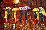 Tallenge - Painting - Umbrellas - Premiu...