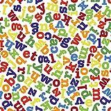 """Stoffgewebe """"Nursery Fabric"""" mit ABC-Alphabet-Aufdruck,"""