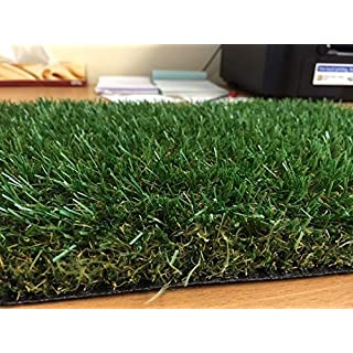 Luxury 30mm Pile Height Artificial Grass | 2m wide choose your own length in 1m Lengths | Cheap Natural & Realistic Looking Astro Garden Lawn | High Density Fake Turf