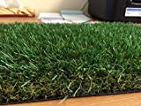 "Luxury 30mm Pile Height Artificial Grass | 6ft 6"" (2 metres) wide choose your own length in 1ft (foot) Lengths 