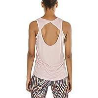 icyzone Damen Yoga Sport Tank Top - Rückenfrei Fitness Shirt Oberteil ärmellos Training Tops