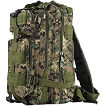 Outad - Mochila de marcha, 24 L, impermeable, 600D, diseño jungle digital color