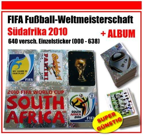 Panini WM WM WM 2010 stickers – complet – Tous les 640 Football Stickers – Album de 000–638 | De Faire Le Meilleur Emploi De Matériaux Et Spécial Offre  2db3fa
