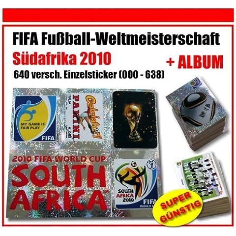 Panini WM 2010–pegatinas para Completo–Todos los 640Fútbol–Adhesivo decorativo de 000–638+