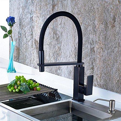 TougMoo Öl eingerieben Küchenarmatur Bronze schwarz Heiß und Kalt, Küche Waschbecken Waschbecken...