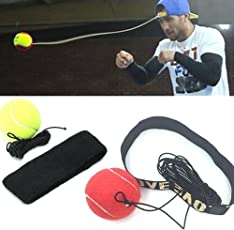 Malloom%C2%AE Malloom Fight Ball with Head Band (Multicolour)