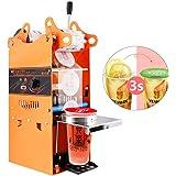 YJINGRUI Beker Sluitmachine Commerciële Handmatige Bubble Tea Cup Sealer voor 90/95/70/75 mm Diameter Cup 300-500 Cups/uur (s