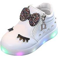 FRAUIT Sneaker Bambina Scarpe Bimbo Con Luci Led Scarpe Bambino Sportive Scarpine Antiscivolo Bambine Invernali Scarpe…