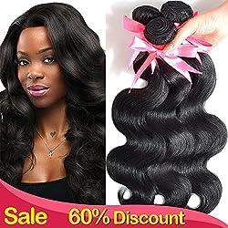 Lin Hair Unprocessed Virgin Brazilian Body Wave Human...