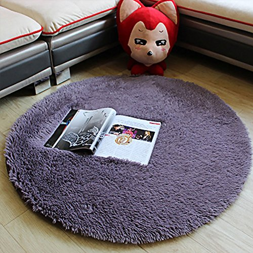 Baby Kinder Spielmatte Runde Teppich Matte Spielzelte Dekoration fürs Kinderzimmer (Baby Spielmatte Grau)