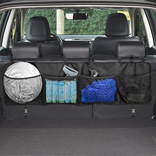 Boot Bag Box (Kofferraum Organizer,Topist Multi-Tasche Kofferraumtasche/Rücksitz Organizer/Auto Aufbewahrungstasche/Rücksitztasche/Auto-Organizer/Auto Organizer/Sitztasche/Sitzlehnentasche/Auto-Sitztasche)