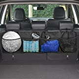 Topist - Organizador para el maletero del coche, con varios compartimentos para almacenar objetos y colocación en los asientos traseros
