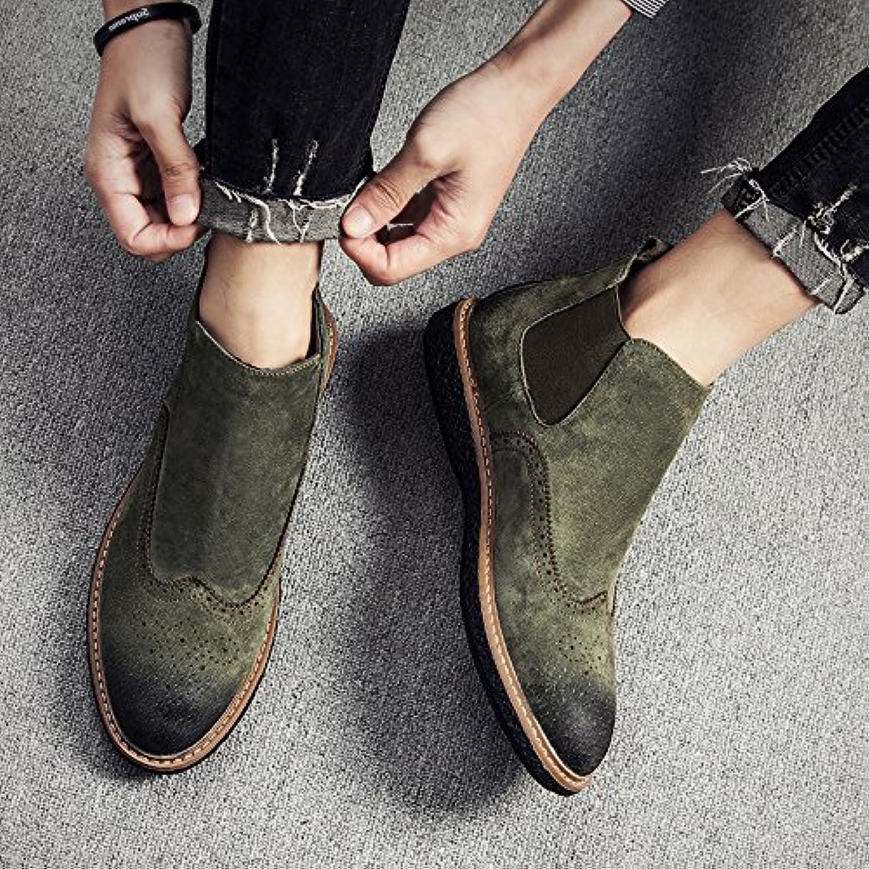 HL-PYL-En el invierno para ayudar a matorral Martin All-Match botas botas.,40,verde