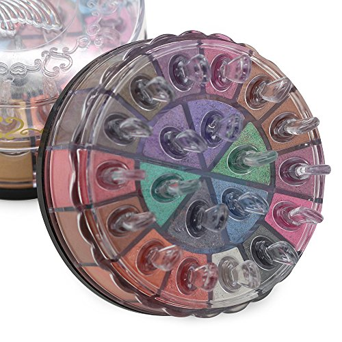 JGB Glitter Pigment Eyeshadow Powder 20 Colors Cool Beauty Daily Club Makeup Shimmer Cosmetic Mineral Eye Shadow Palette Set