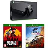 Xbox One X 1 To + Red Dead Redemption 2 + Forza Horizon 4 + code Gears of War 4