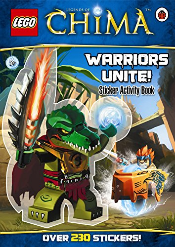 LEGO Legends of Chima: Warriors Unite! Sticker Activity Book