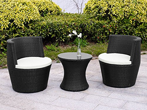 Fineway brand new verona 3 pc rattan garden patio for Rate furniture brands
