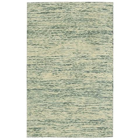 NOURISON 99446232441 - SEAFOAM Handloom Rug, Seafoam, 2 ft 3-Inch x 7 ft 6-Inch