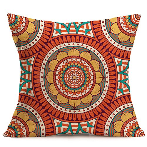 Andouy federa da cuscino modello bohemian minimalista a colori, federa cuscino soft cushion covers home decorativi, cuscini per divani decorativo biancheria cuscino copricuscini divano caso