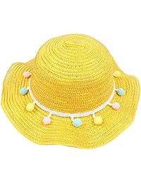 Nvfshreu Sombrero De Sol Sombrero Plegable para Ancho Mujer Sombrero De  Estilo Simple Paja Sombrero De Playa De Verano Sombrero… 573f32268fc