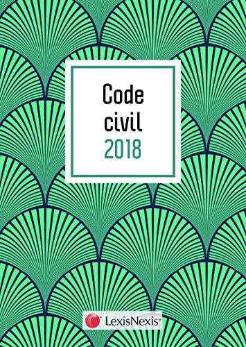 Code civil 2018 Motif palme et livret comparatif - Rforme du droit des contrats et des obligations: 37 me dition