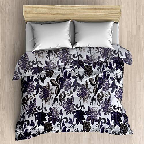 HFI Super Soft Double Bed AC Blanket(85X100 Inches) - Floral, Multicolor