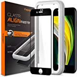 Spigen, 1 Pack, iPhone SE 2020 Tempered Glass Screen Protector, AlignMaster [No Lifting] Auto-Align Technology, Edge to…