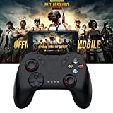 leoie-Game-Controller mit Fernbedienung Bluetooth Gamepad Joystick für PUBG (ohne Bügel), iOS-/Android-Smartphones/Samsung Gear VR/Tablet/TV Box/Emulator