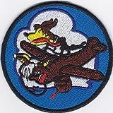 Ecusson brodé Imprimés Thermocollants iron-on Patch comic caricature cartoon avion coyote old style