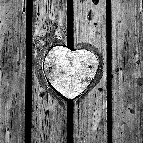 Apple iPhone 5 Housse Outdoor Étui militaire Coque Bois C½ur Saint-Valentin Sideflip Sac