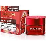 L'Oréal Paris - Crema facial de día, energizante y antiarrugas Revitalift, fórmula extrarreafirmante enriquecida con ginseng