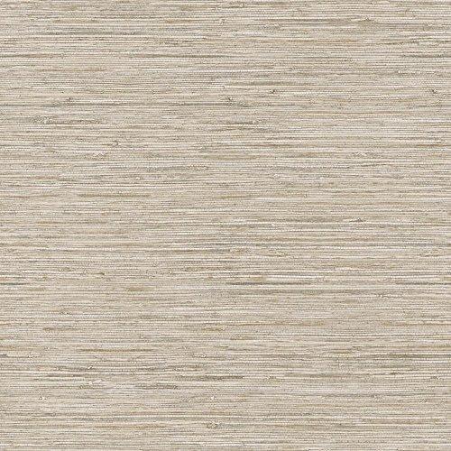 York Wallcoverings WB5502 Nautical Living Horizontal Grass Cloth Wallpaper, Beige/Taupe/Cream/Gold Vein by York Wallcoverings (Horizontale Wallpaper)