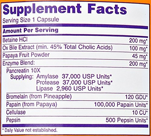 Now Foods | Super-Enzyme | 180 Kapseln | glutenfrei