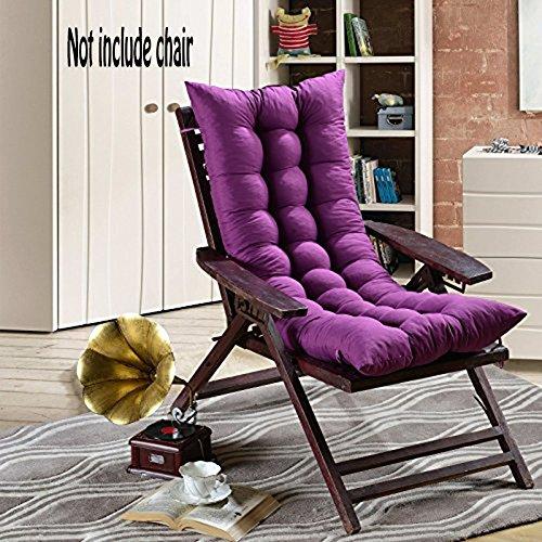 Cojín de asiento con respaldo alto con un diseño transpirable, suave, absorbente, que retiene el calor, para el invierno de 48 cm x 120 cm, para sillas, sillones reclinables, mecedoras de tanto el hogar, como la oficina, como para el coche o para mobiliario de exterior