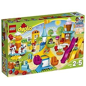 LEGO DUPLOTown IlGrandeLunaPark, Giocattolo con Treno e Scivoli, 10840 0725485712636 LEGO