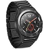 iBazal Armband 20mm Metall Edelstahl Band Metallarmband Uhrenarmband Ersatz für Huawei Watch 2/Samsung Galaxy 42mm…