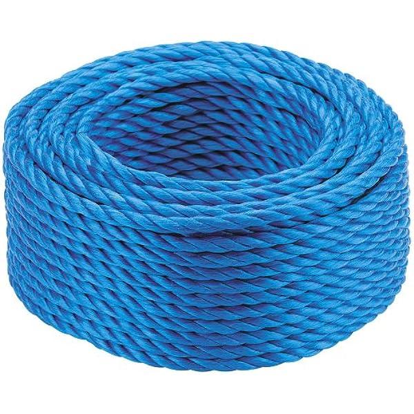 PP Schnur Polypropylen Seil 4-16 mm,30m,Arbeitsseil Allzweckseil,Leine Weiß