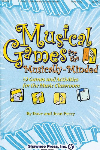 Price comparison product image Musical Games for the Musically-Minded: 52 Games and Activities for the Music Classroom