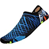 Water Shoes, Swimming Shoes for Mens & Womens, Quick Dry Unisex Barefoot Skin Water Shoes Socks, Aqua Shoes for Beach Running