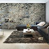 murando - Fototapete Steine 600x280 cm – Größe Format 6m – Vlies Tapete - Moderne Wanddeko - Design Tapete - Steinoptik Beton Mauer f-A-0627-x-e