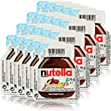 20x Ferrero Nutella Nuss-Nougat-Creme Brotaufstrich Portionspackung 15g