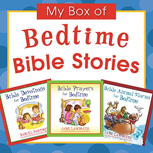 My Box of Bedtime Bible Stories: Bible Animal Stories for Bedtime/Bible Prayers for Bedtime/Bible Devotions for Bedtime